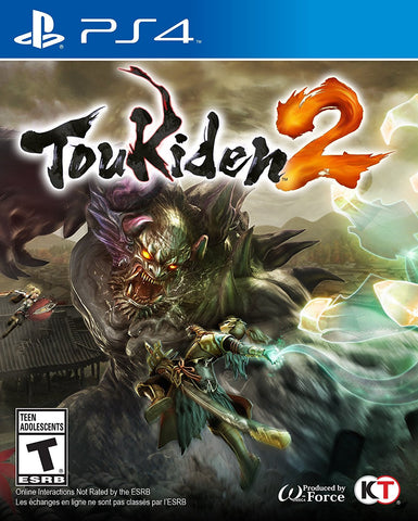 Toukiden 2 For PlayStation 4 (Physical Disc)