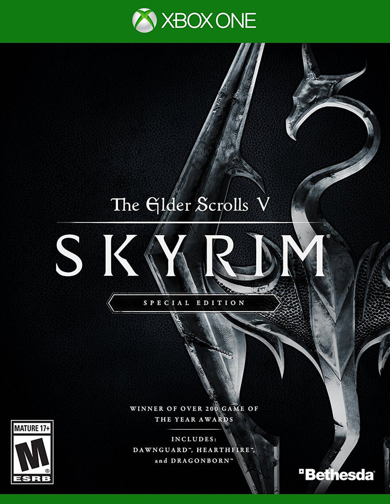 The Elder Scrolls V: Skyrim - Special Edition For Xbox One (Physical Disc)