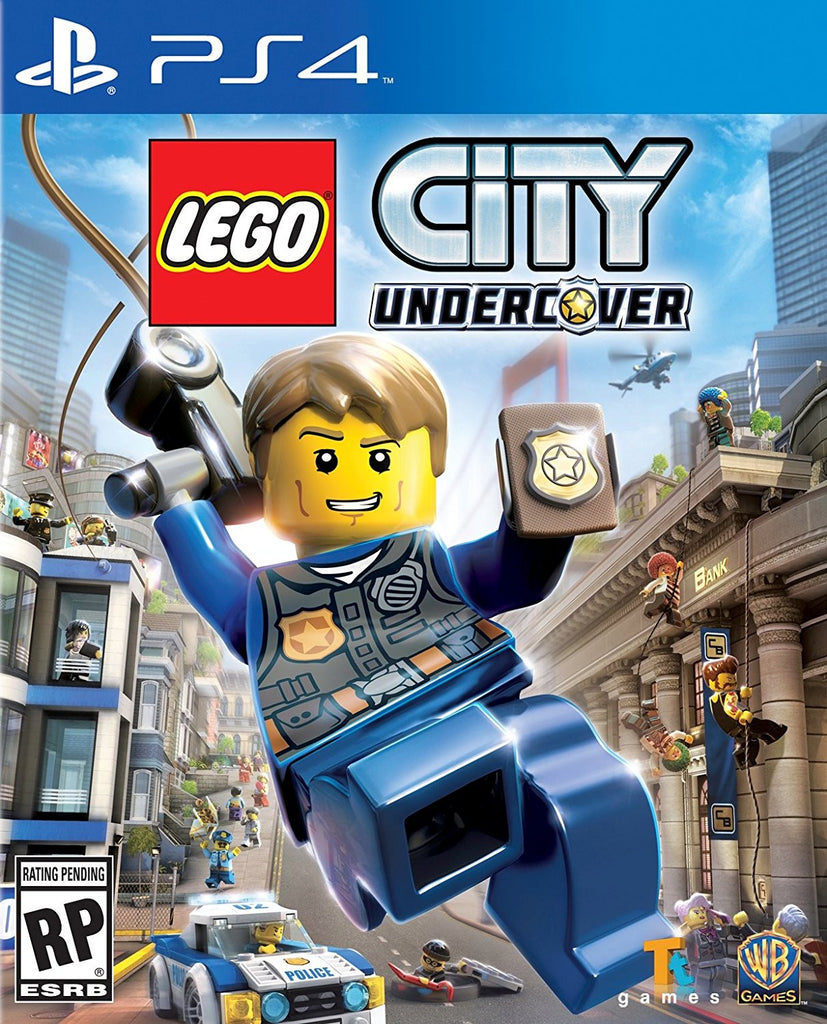 LEGO City Undercover For PlayStation 4 (Physical Disc)