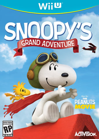 Snoopy's Grand Adventure For Wii U (Physical Disc)