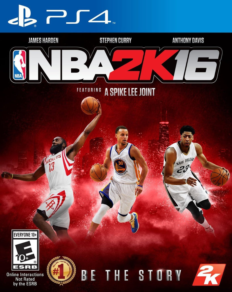 NBA 2K16 For PlayStation 4 (Physical Disc)