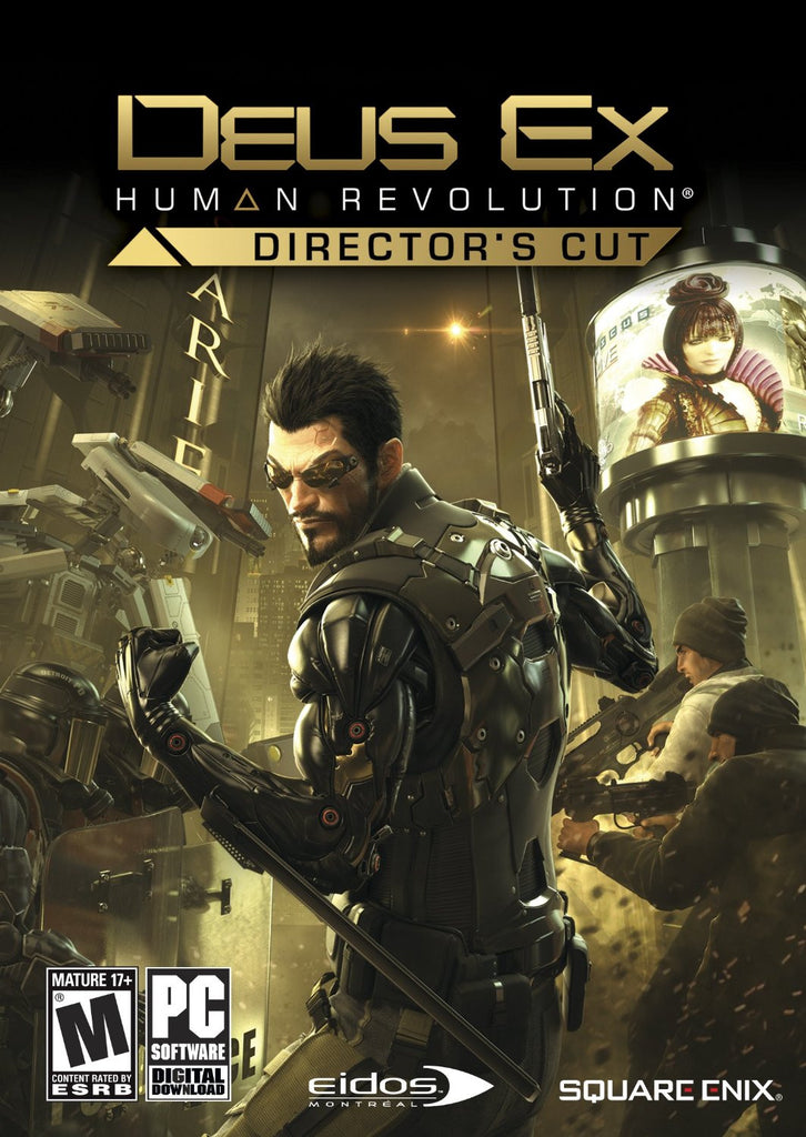 Deus Ex: Human Revolution - Director's Cut Windows PC Game Download Steam CD-Key Global