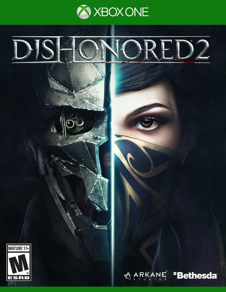 Dishonored 2 For Xbox One (Physical Disc)