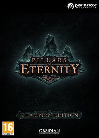 Pillars of Eternity - Champion Edition Windows PC Game Download GOG CD-Key Global