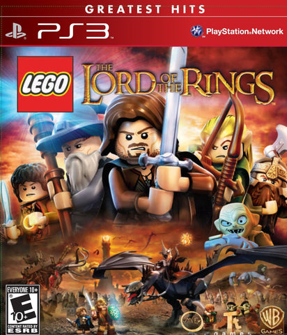 LEGO Lord of the Rings For PlayStation 3 (Physical Disc)