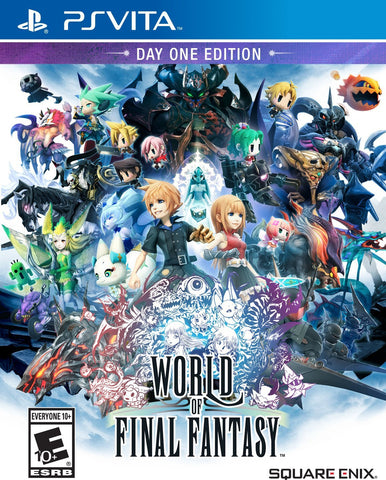 World of Final Fantasy For PSVita (Physical Cartridge)