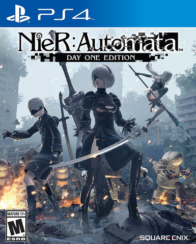 Nier: Automata Day One Edition Pre-Order For PlayStation 4 (Physical Disc)