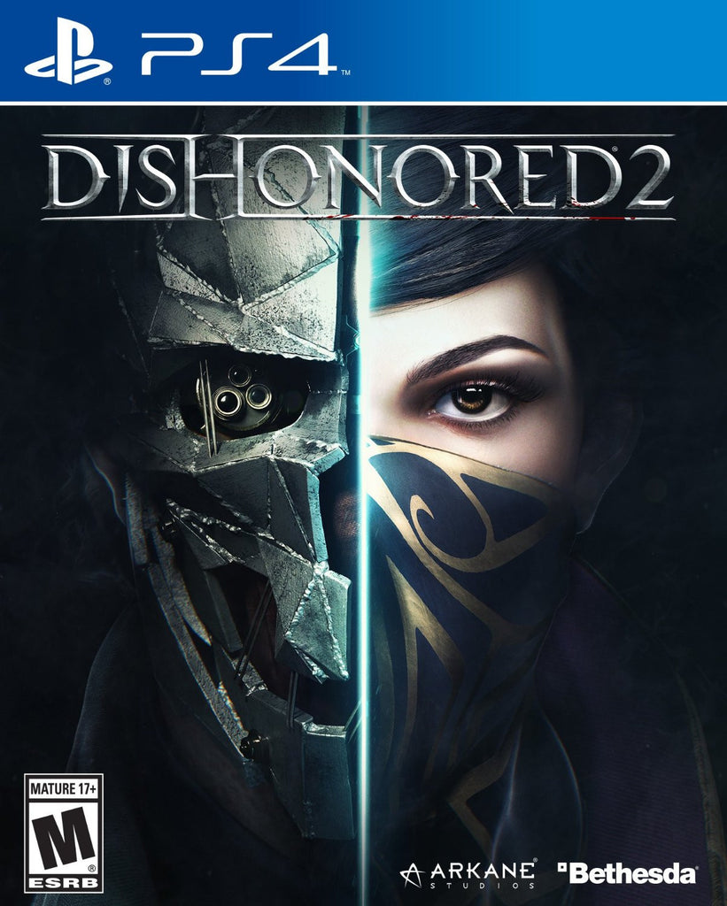 Dishonored 2 For PlayStation 4 (Physical Disc)