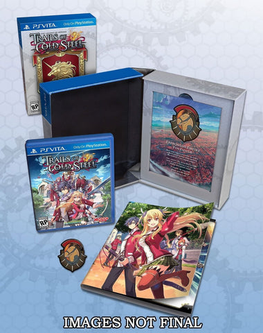 The Legend of Heroes: Trails of Cold Steel - Lionheart Edition For PSVita (Physical Cartridge)