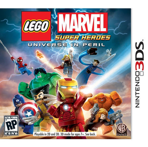 LEGO: Marvel Super Heroes For 3DS (Physical Cartridge)