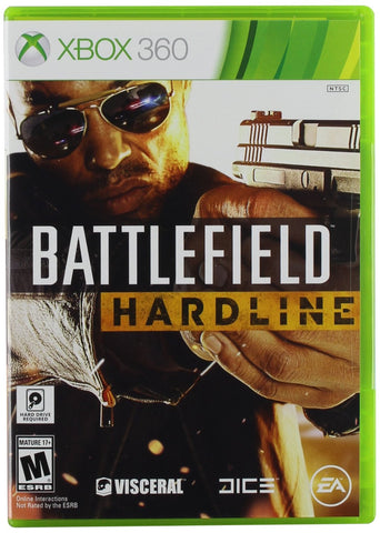 Battlefield Hardline For Xbox 360 (Physical Disc)