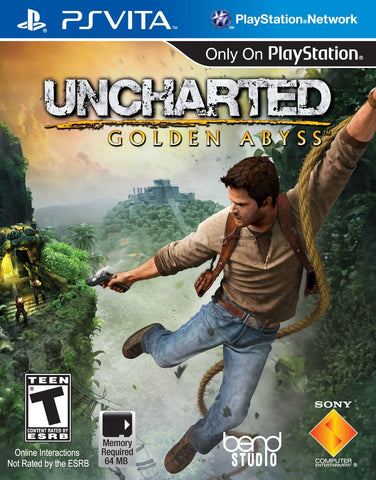Uncharted: Golden Abyss For PSVita (Physical Cartridge)