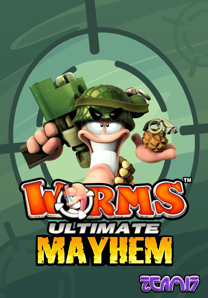 Worms Ultimate Mayhem Windows PC Game Download Steam CD-Key Global