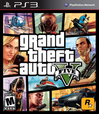 Grand Theft Auto V For PlayStation 3 (Physical Disc)