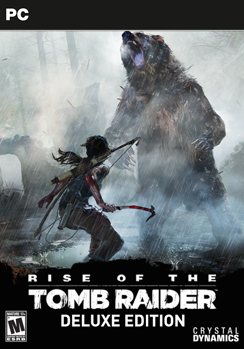 Rise of the Tomb Raider - Digital Deluxe Edition Windows PC Game Download Steam CD-Key Global