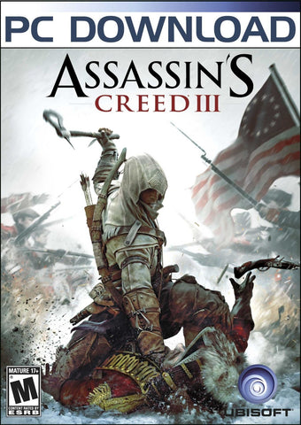 Assassin's Creed III Windows PC Game Download Steam CD-Key Global