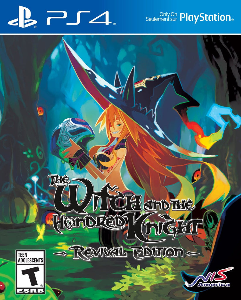 The Witch and the Hundred Knight: Revival Edition For PlayStation 4 (Physical Disc)