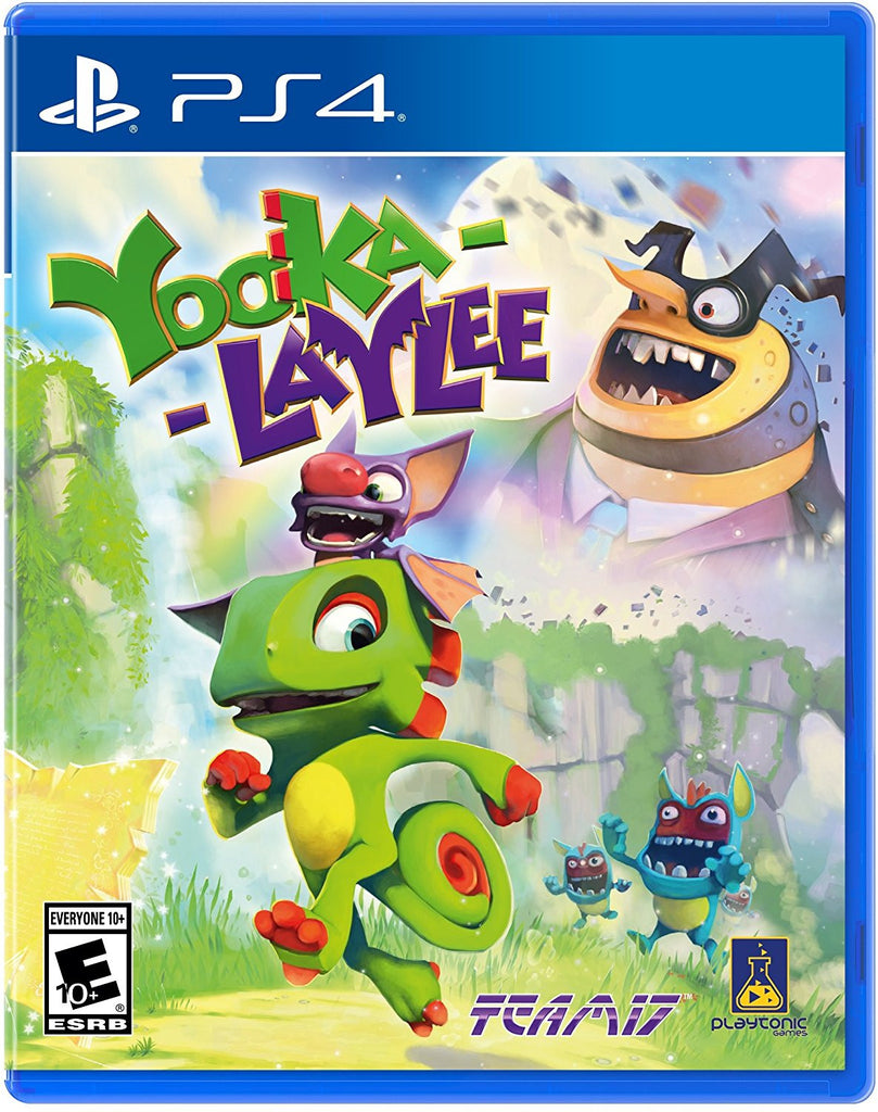 Yooka-Laylee For PlayStation 4 (Physical Disc)
