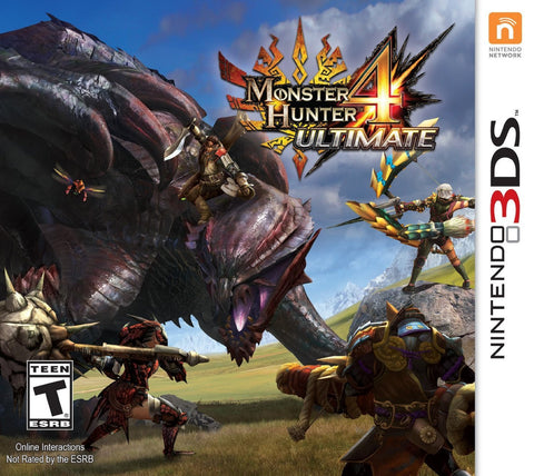 Monster Hunter 4 Ultimate Standard Edition For 3DS (Physical Cartridge)