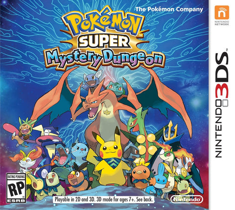 Pokemon Super Mystery Dungeon For 3DS (Physical Cartridge)