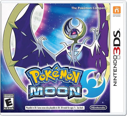 Pokemon Moon For 3DS (Physical Cartridge)