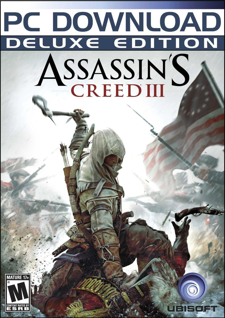 Assassin's Creed III Deluxe Edition Windows PC Game Download Steam CD-Key Global