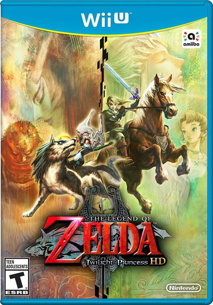The Legend of Zelda: Twilight Princess HD Wii U Game Physical Disc US