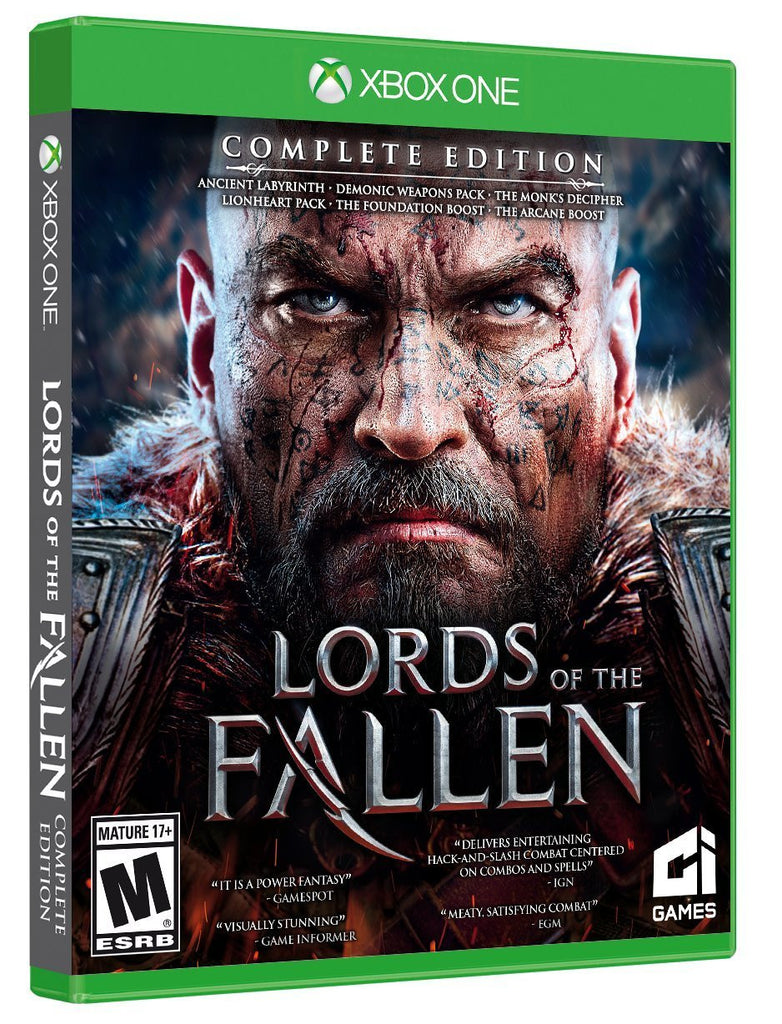 Lords of the Fallen Complete Edition For Xbox One (Physical Disc)