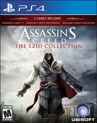 Assassin's Creed The Ezio Collection For PlayStation 4 (Physical Disc)
