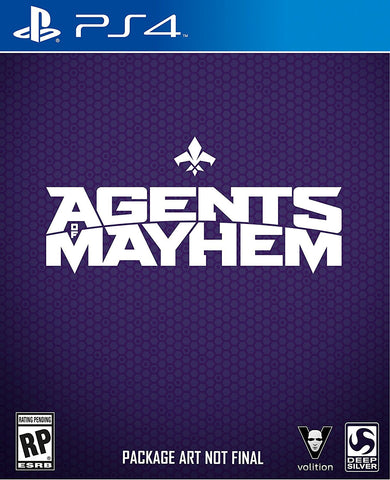 Agents of Mayhem Pre-Order For PlayStation 4 (Physical Disc)