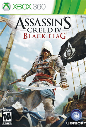 Assassin's Creed IV Black Flag For Xbox 360 (Physical Disc)