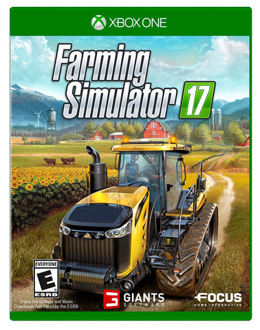 Farming Simulator 17 For Xbox One (Physical Disc)