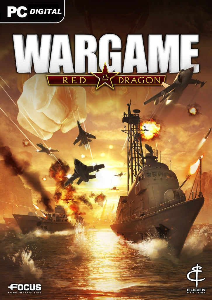 Wargame: Red Dragon Windows PC Game Download Steam CD-Key Global