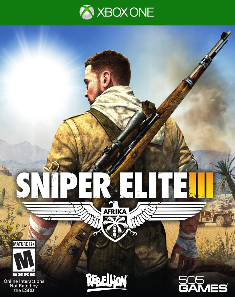 Sniper Elite III For Xbox One (Physical Disc)