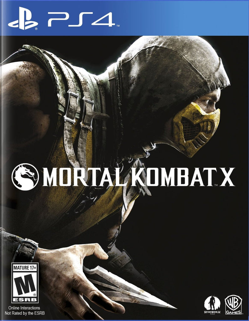 Mortal Kombat X For PlayStation 4 (Physical Disc)