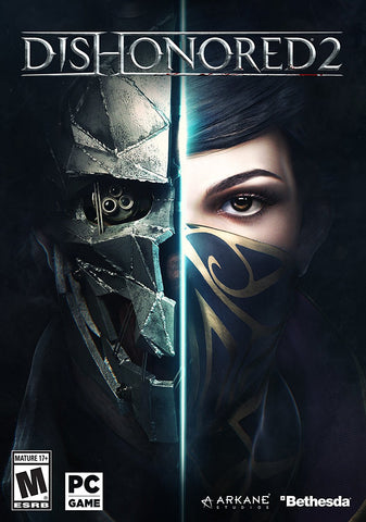 Dishonored 2 For PC (Physical Disc)