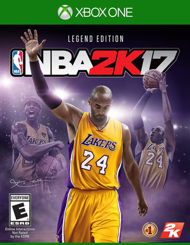 NBA 2K17 – Legend Edition For Xbox One (Physical Disc)