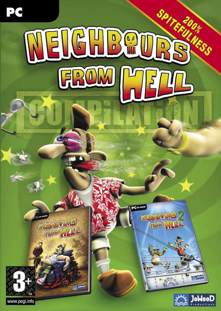 Neighbours from Hell Compilation Windows PC Game Download Steam CD-Key Global