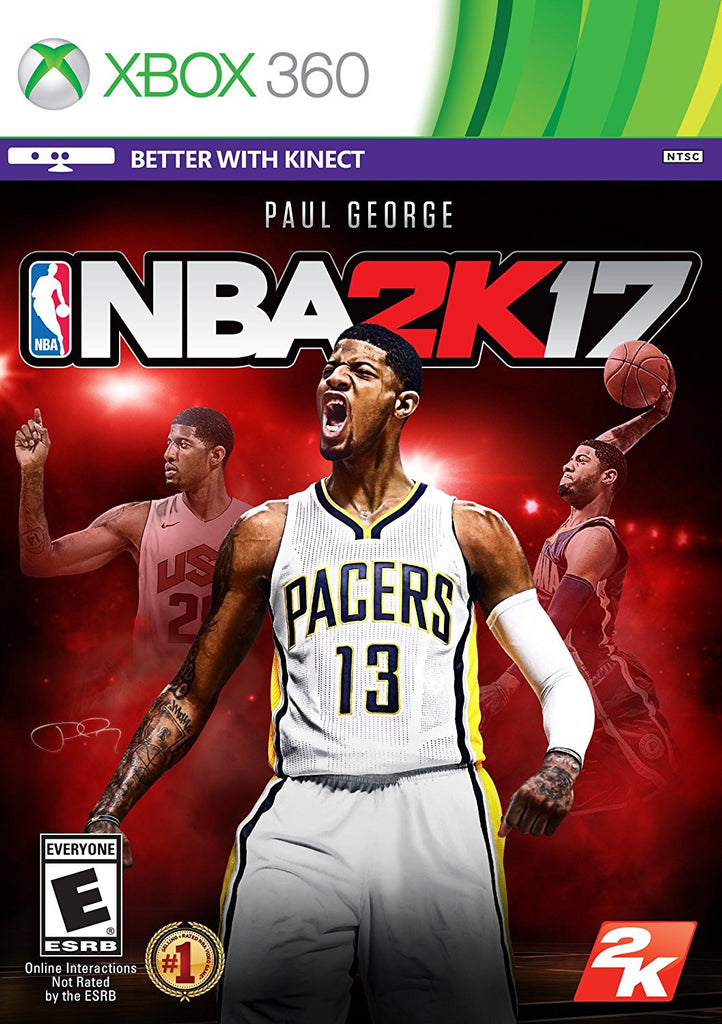 NBA 2K17 – Standard Edition For Xbox 360 (Physical Disc)
