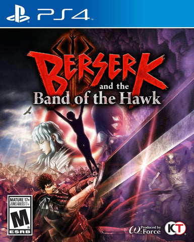Berserk and the Band of the Hawk For PlayStation 4 (Physical Disc)