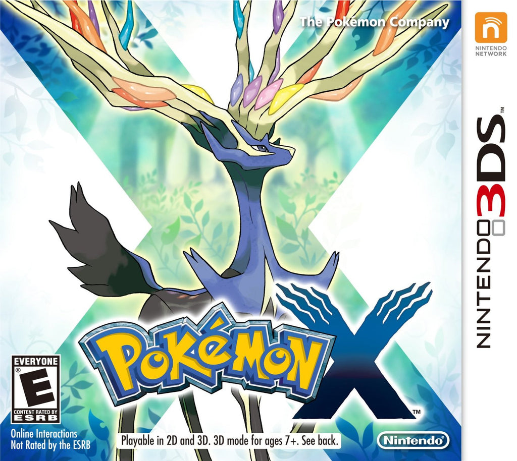 Pokémon X For 3DS (Physical Cartridge)