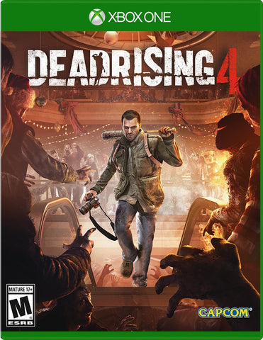 Dead Rising 4 For Xbox One (Physical Disc)