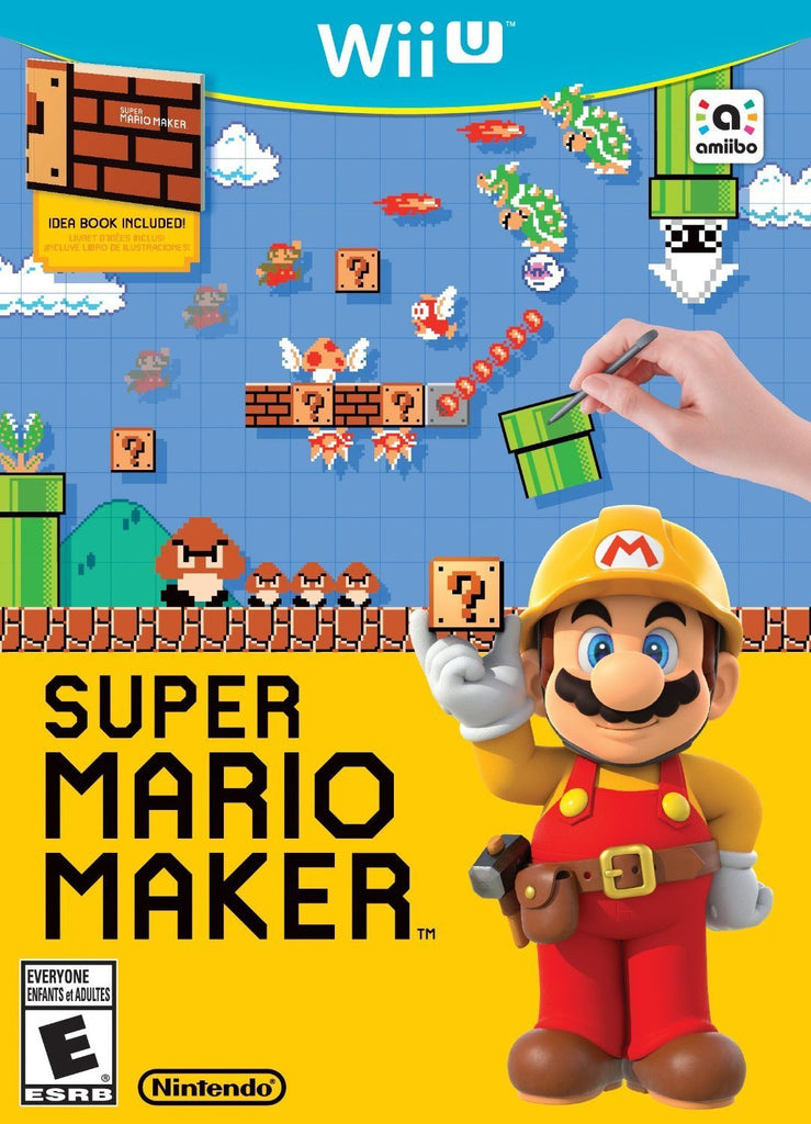 Super Mario Maker For Wii U (Physical Disc)
