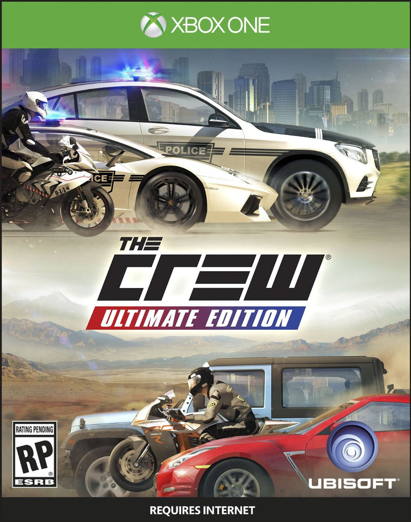 The Crew Ultimate Edition For Xbox One (Physical Disc)