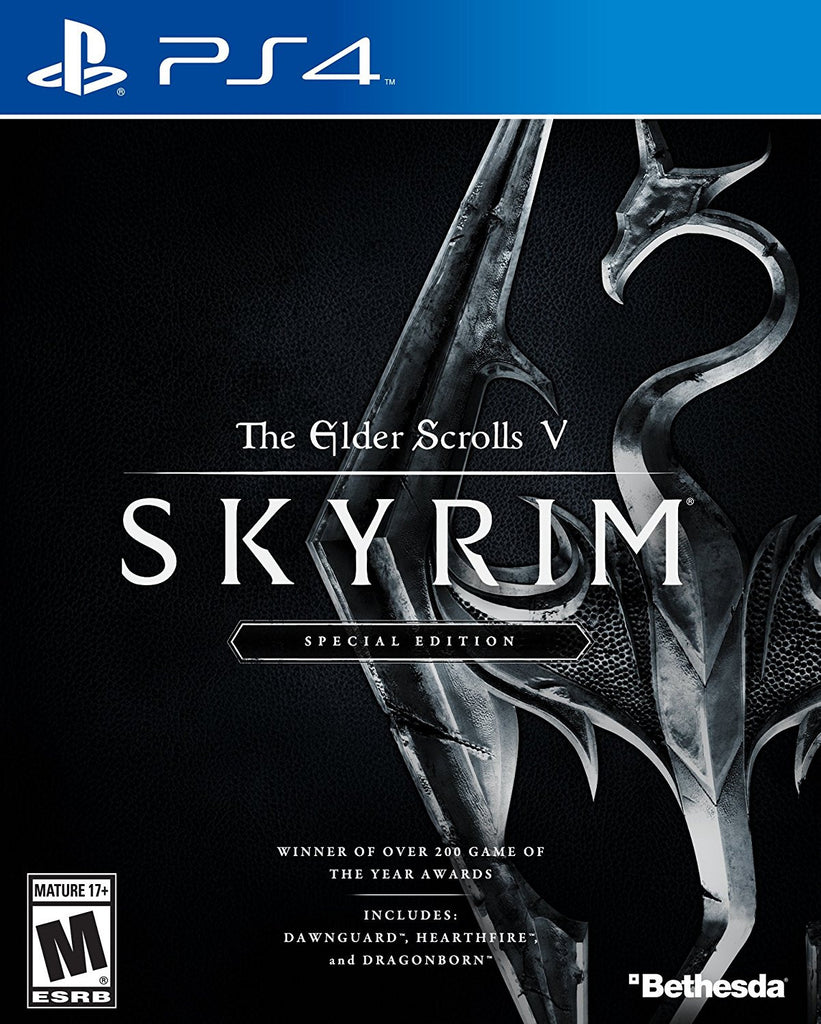 The Elder Scrolls V: Skyrim - Special Edition For PlayStation 4 (Physical Disc)