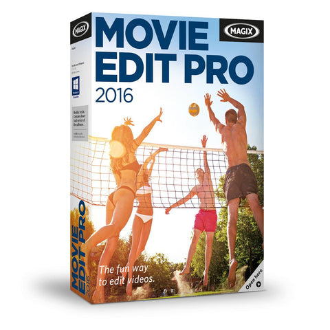 MAGIX Movie Edit Pro 2016 Global License Product Key - Digital Download