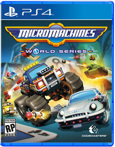 Micro Machines World Series Pre-Order For PlayStation 4 (Physical Disc)