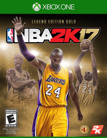 NBA 2K17 – Legends Gold Edition For Xbox One (Physical Disc)