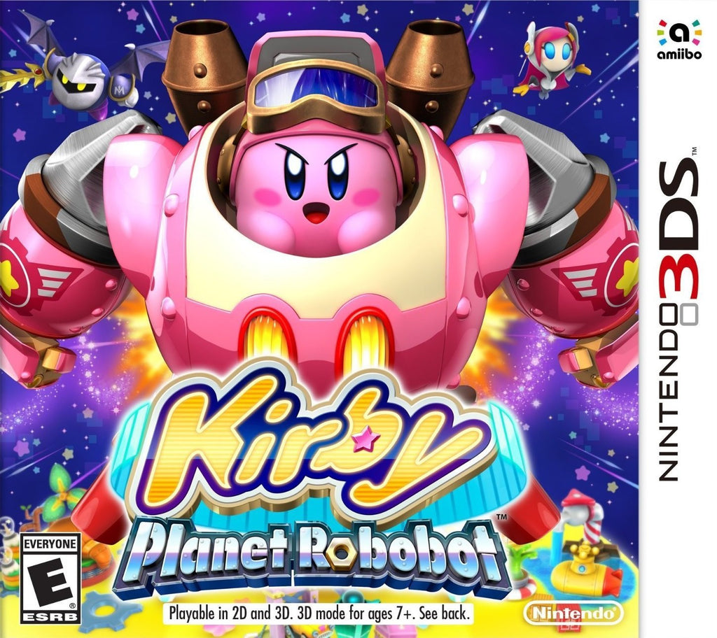 Kirby: Planet Robobot For 3DS (Physical Cartridge)