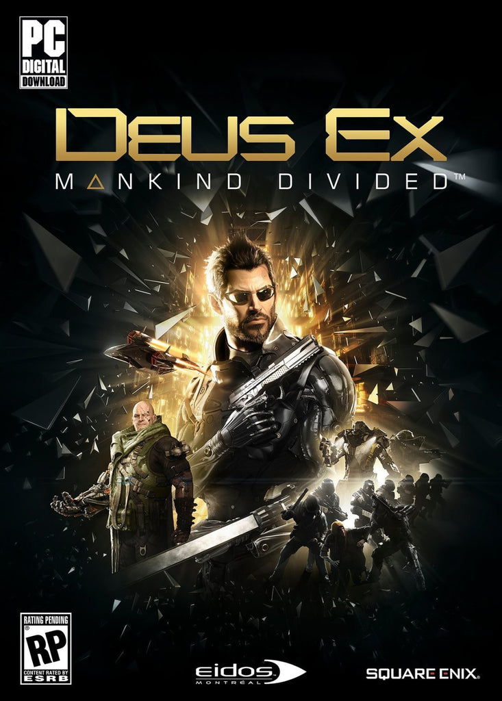 Deus Ex: Mankind Divided Windows PC Game Download Steam CD-Key Global